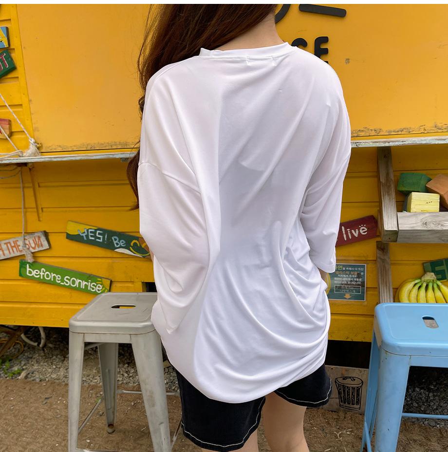리리앤코 러프딜 썸머 라운드 쿨링 티셔츠